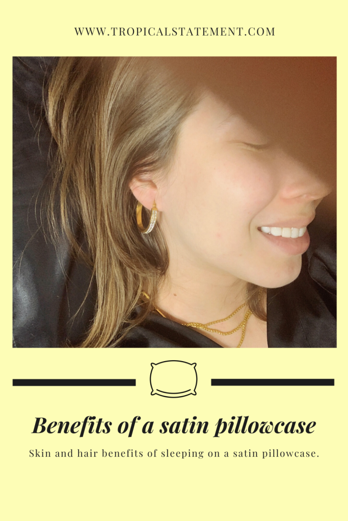 Benefits of a satin pillowcase